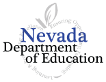 State of Nevada faded seal that links to the State of Nevada ADA website homepage