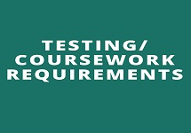 Testing/Coursework Requirements