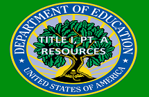 U.S. Department of Education title i pt A resources